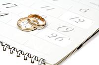 выбрать дату регистрации брака